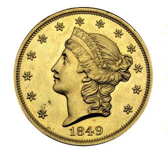 rare-coins-1849-liberty-gold