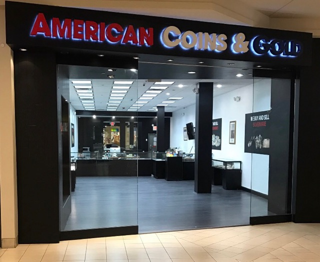 American Coins & Gold - Open 7 Days A Week - 6 Locations In NJ, NY & CT